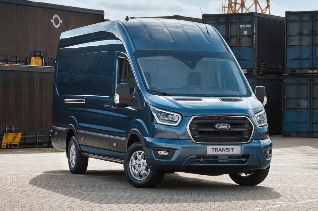 Ford Transit MK9 front