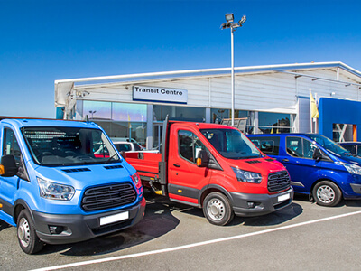 Ford Transit Centrum